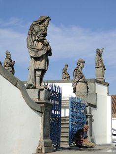Os 12 Profetas do Santuário do Bom Jesus de Matosinhos, em Congonhas, Minas Gerais
