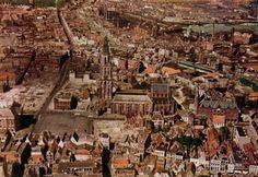 This is how Groningen looked in 1950