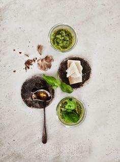 wild garlic pesto.