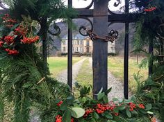 Christmas at Chateau de Gudanes, a landmark property in the south of France being renovated by expats