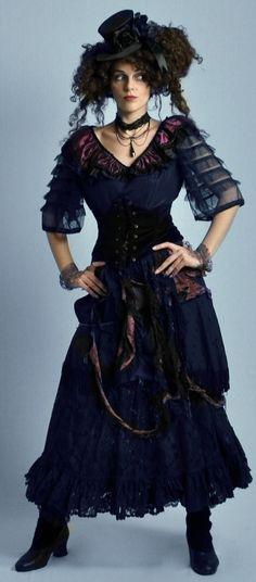 Mrs Lovett costume...The Costume Shop, Melbourne.