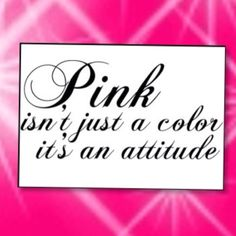 ...I am all about attitude <3