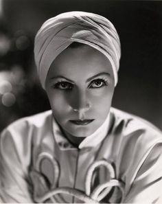 """Greta Garbo in """"The Painted Veil"""" (1934)"""