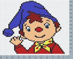 Babe pulover4 scheme Noddy (642x518, 156Kb)