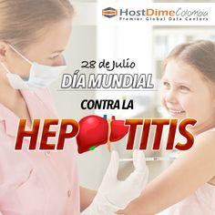 Cada 28 de julio, se conmemora el #DíaMundialContraLaHepatitis con el objetivo de aumentar la sensibilización y la comprensión de la #HepatitisViral y las enfermedades que provoca.   #HostDime