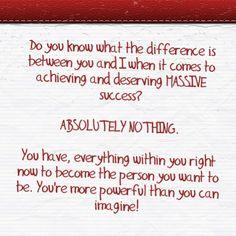 Determination makes success inevitable