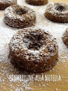 #Ciambelline alla #nutella - Molliche di zucchero