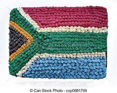 Of South African Flag Cake  A Delicious Square Birthday cakepins.com
