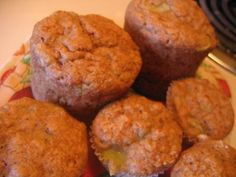 Banana and Kiwi Muffins from Food.com: These are moist and yummy, not too sweet - perfect for breakfast or a light snack. Makes 12 muffins or 24 mini muffins.