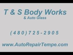 For top-of-the-line auto body work, call (480) 725-2905 or visit http://www.autobodyrepairtempe.com today for a free estimate! T & S Body Works and Auto Glass is a locally owned and operated auto body repair center in Tempe, Arizona providing professional auto collision repair services,auto body repair, auto painting, collision repair, frame straightening and auto glass replacement for all makes and models.