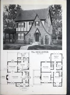 Brick Victorian House Plans Best Of Homes Of Brick and Stucco Victorian House Plans, Vintage House Plans, Tudor House, Victorian Homes, Sims House Plans, Best House Plans, Small House Plans, House Floor Plans, Sims 4