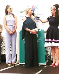 Cliona McGrath. One of the #StyleEvening finalists here at @tramoreracecourse with the @waterfordcrystalfactory #TramoreRaces