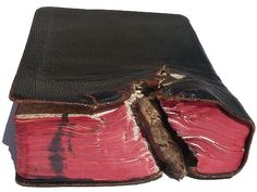Life-saving Bible from WWI Stopped Shrapnel
