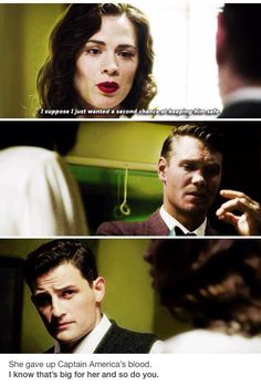Agent Carter, Agent Tompson, and Agent Sousa Peggy Carter, Agent Carter, Marvel Memes, Marvel Dc Comics, Dc Movies, Bucky Barnes, Steve Rogers, Marvel Cinematic Universe, Queen
