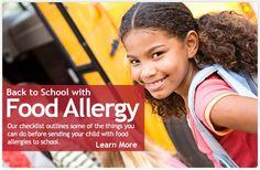 FAAN web site for food allergies