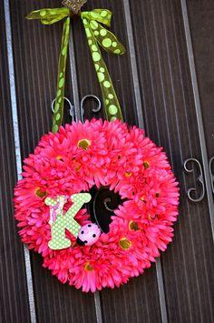 "Photo 11 of 35: Pink & green Ladybugs / Birthday ""Keira's 2nd Pink Ladybug birthday party!""   Catch My Party"