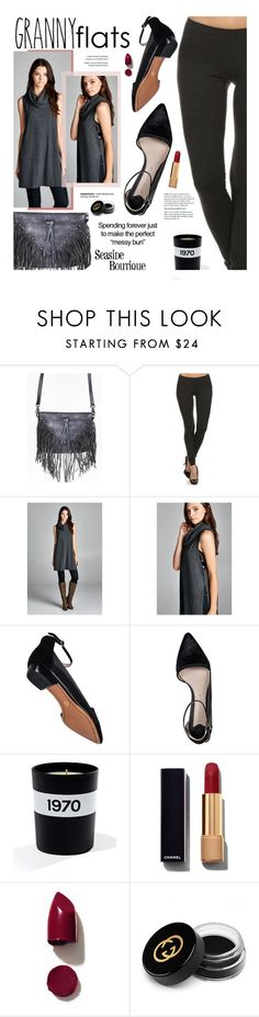 """""""Granny Flats & Seaside Boutique"""" by seaside-boutique ❤ liked on Polyvore featuring 10 Crosby Derek Lam, Bella Freud, Chanel, NARS Cosmetics and Gucci"""
