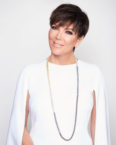 My new jewelry line Kris Jenner Signature Collection is here!! The first limited-edition necklace is available now exclusively online at the link in my bio! #krisjenner #krisisms