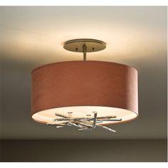Semi Flush Vintage Ceiling Light | Bellacor