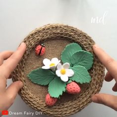 How to make a beautiful basket using jute and cardboard! By: @Dream Fairy Diy