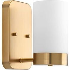 Progress Lighting Elevate 5-In W 1-Light Brushed Bronze Arm Wall Sconce P300020-109