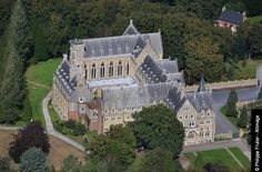 15 Abbayes du Nord-Pas de Calais - Abbaye Saint Paul, Wisques, Pas-de-Calais.