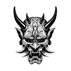 Art - stile tatuaggio - Arte Informations About Art – tattoo style Pin You can easily use my pro - Mascara Samurai Tattoo, Mascara Hannya, Tattoo Mascara, Samurai Maske Tattoo, Hannya Maske Tattoo, Oni Tattoo, Japanese Demon Tattoo, Japanese Tattoos, Folklore Japonais