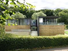 Richard Murphy's sports pavilion Pigeon, Pavilion, Mansions, Architecture, House Styles, Sports, Inspiration, Home Decor, Arquitetura
