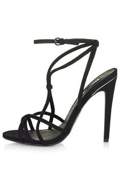 RACHEL Strappy High Sandals - View All - from TOPSHOP