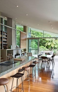 Fabulous Isolated Family Holiday House in New ZealandApple Bay house has been designed by Wellington-based designers Parsonson Architects. The contemporary property was finished in 2006 and is located i... Architecture Check more at http://rusticnordic.com/fabulous-isolated-family-holiday-house-in-new-zealand/