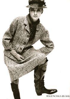 Balenciaga daywear photo William Klein 1962