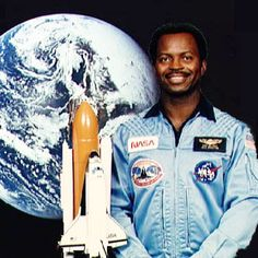 """Ronald McNair was an astronaut who previously researched satellite communications at Hughes Research Laboratory in California. His first flight into space was onboard the Space Shuttle Challenger in 1984 to conduct experiments in microgravity. He and the rest of his crew lost their lives seconds after liftoff of his second shuttle flight onboard Challenger in 1986. The mission of the flight was to photograph Halley's Comet."""