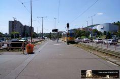 Budapest Bécsi út 04.07.2013 - die Endhaltestelle der Linie 17