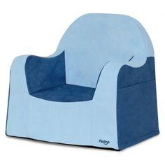 Pkolino New Little Reader Chair in Blue @ Design Public