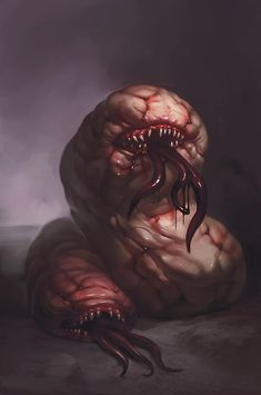 .Blood-soaked Worms