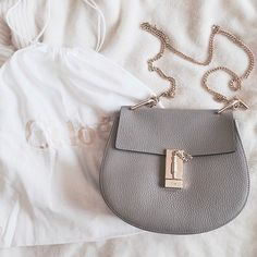 Currently Coveting >> The Chloe Drew bag in every color. // Follow @ShopStyle on Instagram for more inspo.