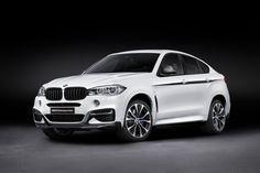 BMW geeft nieuwe X6 een M-Performance behandeling