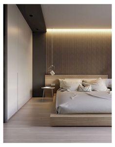 Minimalist Apartment, Minimalist Interior, Minimalist Bedroom, Minimalist Home, Modern Master Bedroom, Master Bedroom Design, Contemporary Bedroom, Bedroom Designs, Luxury Bedroom Design