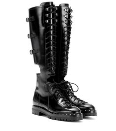Valentino Valentino Garavani Rockstud leather boots