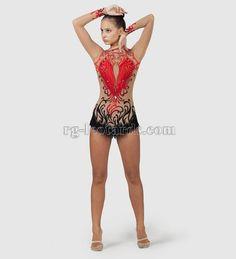 Queen of Spades Gymnastics Leotard — Gymnastics Fantastic Shop