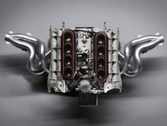 beautifully engineered • Porsche RS Spyder Engine, Revised with Direct...