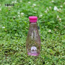 O meu Desporto Garrafa De Plástico Garrafas De Água Bpa Livre chaleira Botellas de Deportivas Agua QQB010 Transparente Mini Garrafa De Água Sólida(China (Mainland))