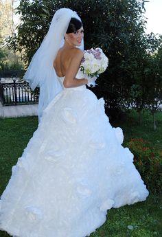 Wedding dress romanian designers on pinterest maya for Romanian wedding dress designer