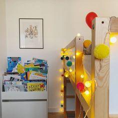 Pom pom fairy lights – And so to Shop