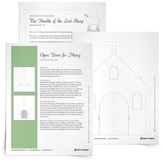 The Pope announced a Holy Year of Mercy to highlight the importance of being merciful to one another, as God is to us. Download a primary lesson plan and printable activity on the virtue of mercy.