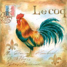 Servítky  Le Coq