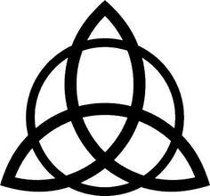 TRIQUETRA | Pagan symbol for protection: