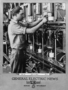 GE Works newspaper from 1927. The papers chronicled success, achievements, and the daily life at GE plants.