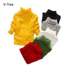 69f439348 US  27.93 Winter Cashmere Sweater for a Boy Warm Pullover Boys ...