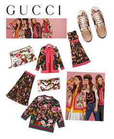 """""""Presenting the Gucci Garden Exclusive Collection: Contest Entry"""" by emma-johansson-2 on Polyvore featuring Gucci and gucci"""